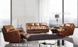 Living Room Furniture Soft Leather Sofa (651)