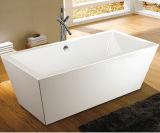 CE Cupc Square 100% Acrylic Floorstanding Soaking Bathtub