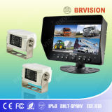 Super Wide Angle Quad Monitor with Night Vision