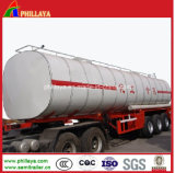 Stainless Steel Chemical Liquid Transport Tank Semi Trailer Price
