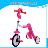 China Kids 2 in 1 Scooter Tricycle Can Sit and Slide Scooter with Music Light