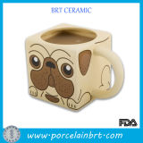 Special Cute Dog Ceramic Cup