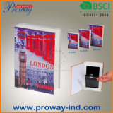 Security Book Safe Cash Box with Real Paper Cover