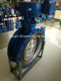 Triple Eccentric Metal Seated Flanged Type Butterfly Valve