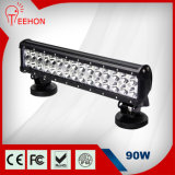 90W LED Work Light Flood Bar Truck Boat Offroad 4WD Vs Aurora LED off Road Light Bar