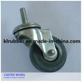 """4"""" Swivel Stem Light Duty Rubber Casters Wheel"""