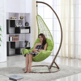 Chromatic Factory Outdoor Swing, Rattan Furniture, Indoor Egg Hanging Chair Swing (D018)