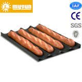 Al Alloy 4 Grooves Non-Stick Baking Tray for Baguette