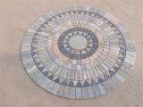 Natural Slate Mosaic Tiles for Flooring (SSS-68)