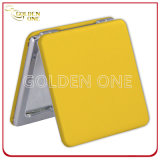 Factory Wholesale Promotion Gift PU Leather Square Pocket Mirror