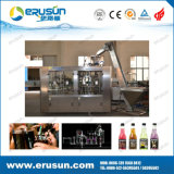 Glass Bottle with Aluminum Cap Soda Drink Filling Machine