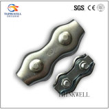 Stainless Steel Duplex Type Wire Rope Clamp