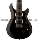 Se 7-String Flame Maple Top Electric Guitar in Black (GP-37)