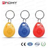Multi Color Waterproof ABS 13.56MHz RFID Key Tag/Key Fob