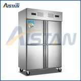 Mld-10z4a 4 Door Commercial Kitchen Freezer Refridgerated Cabinet for Kitchen Equipment