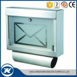 Stainless Steel Waterproof Wall Mount Combination Locked Mailbox
