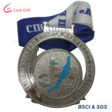Factory Custom Best Metal Silver Sport Medals