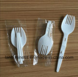 PP/PS Disposable Plastic Folded Fork