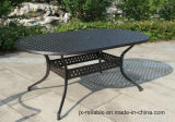 "Patio Garden Cast Aluminum Outdoor 42""X 72""Table Furniture"
