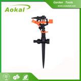 "Water Lawn Sprinkler Gun 1/2"" Garden Plastic Impulse Sprinkler"