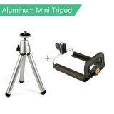 Universal Mini Tripod Aluminum Lightweight Tripod Stand Mount for Phones