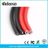 6 mm2 Solar PV Cable Class 5 Tinned Copper Conductor Tinned Copper Wire Black and Red High Quality