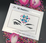 HK Topaz Self-Adhesive Face Jewels Sticker Eyelash Sparkly Crystal Stickers (S092)