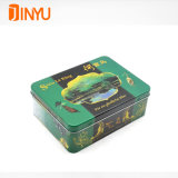Cmyk Offset Printing Hinge Tin Box for Fashion Accessories Packaging