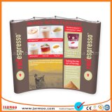 Quality Curved Advertising Pop up Display