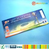 13.56MHz ISO14443A MIFARE Ultralight C RFID Paper Transport ticket Card