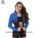Cheap Wholesale Custom Design Fitness Tracksuit Cheerleading Uniform Wear for Women