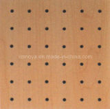 Sound Absorption Building Decorative Material, Perforated Wooden Acoustic Wall Panel