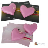 Heart Shaped Leather Paper Weight (4774R1)