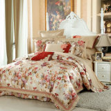 Floral Bedding Set Cotton/Polyester