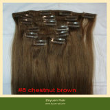 100% Human Hair Clip in Hair Extension (C-012)