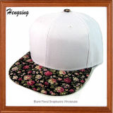 Floral Bill Jazz Snapbacks Hats