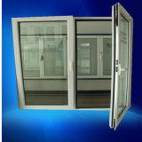 Tilt & Turn Opening Style Double Pane Aluminum Casement Window