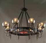 Top Quality Decoration Metal Creative Bar Shop Chandelier