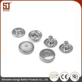 OEM Monocolor Round Individual Metal Snap Button for Jacket
