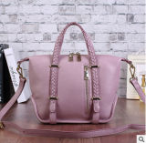 Cattle Two Layer Leather Lady Portable Shoulder Messenger Bag