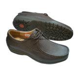 Dk. Brown Men Casual Dress Shoes Comfort Shoe Loafer Shoe