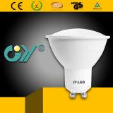 6W 6000k LED Spotlight GU10 with CE RoHS GS SAA