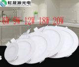 6W 9W 12W 18W 20W Round LED Panel Light