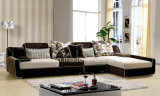 Modern L-Shape Fabric Sofa Living Room Furniture (HX-F615)