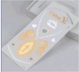 Temporary Jewelry Necklace Tattoo Stickers Art Tattoo Sticker