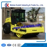 Full Hydraulic Single Drum Vibratory Roller with Pad Foot Optional