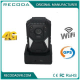 Functional Police Body Camera with 4G 3G GPS for Patrolman