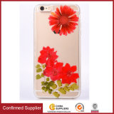 Newest Drop Rubber Flowers TPU mobile Phone Cover Case