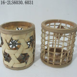 S/2 or S/3 Antique of Mixed Coloor of Rattan Baskets