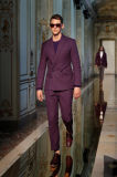 Slim Fit Black Men Custom Made Suit